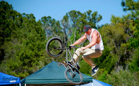 360 Degree Mid Air Turn   Fat Tire Festival  Santos, Fla.
